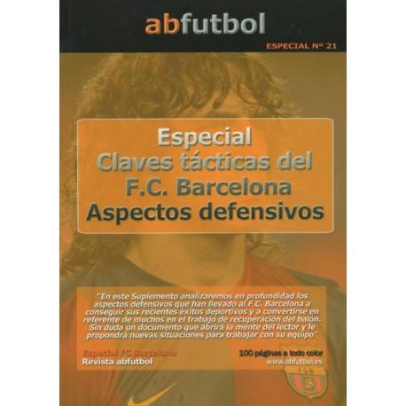 ESPECIAL Nº 21: CLAVES TÁCTICAS DEL F.C. BARCELONA - ASPECTOS DEFENSIVOS